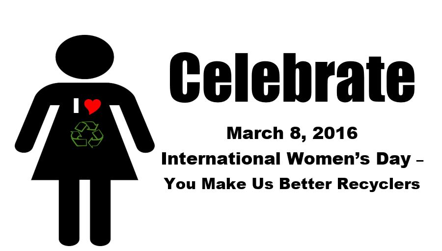 Celebrate Intl Womens Day March 8